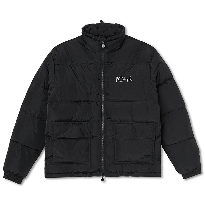 폴라 패딩 POCKET PUFFER-BLACK