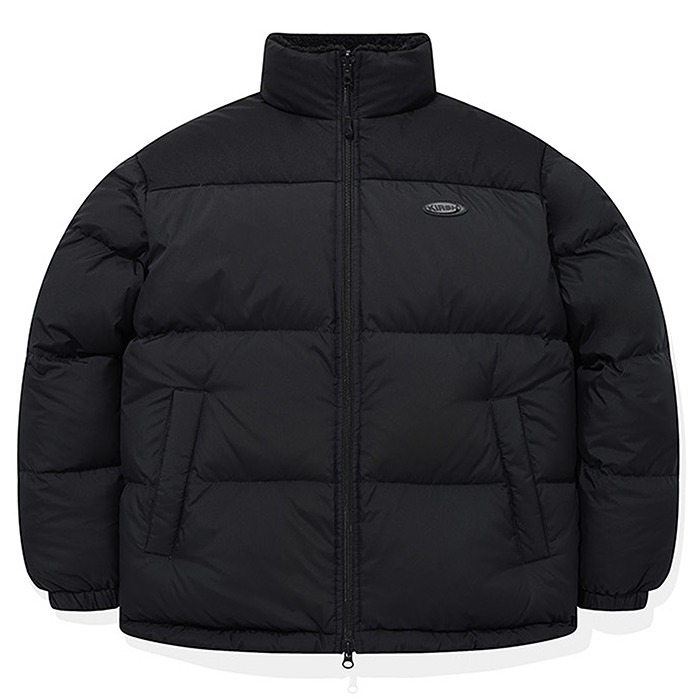 키르시 패딩 REVERSIBLE FLEECE NUPTSE PADDING JA-BLACK