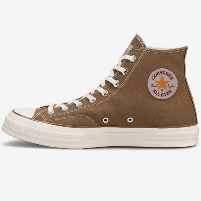 칼하트 WIP CONVERSE CHUCK 70S HIGH OX ICONS-HAMILTON BROWN