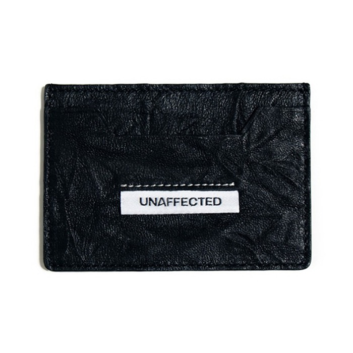 언어펙티드 LOGO LABEL CARD HOLDER-BLACK