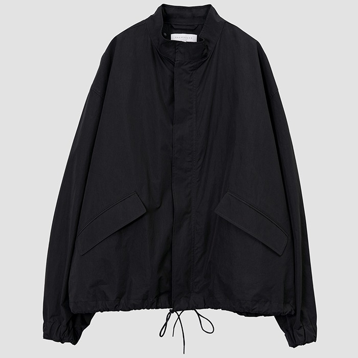 브라운야드 ESSENTIAL SHORT JACKET-BLACK