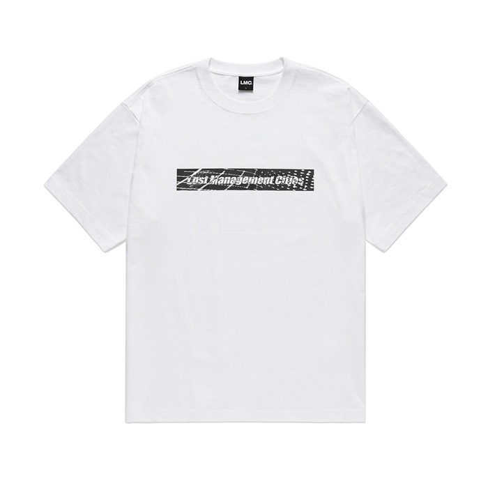 엘엠씨 LMC D-NOISE FN BOX TEE-WHITE