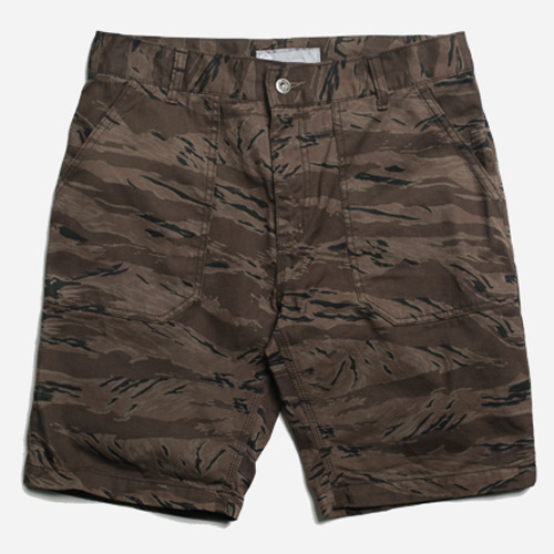 프리즘웍스_TIGERCAMO FATIGUE SHORT_BROWN